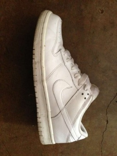 Nike Dunk Tennis Sneaker White/White Athletic