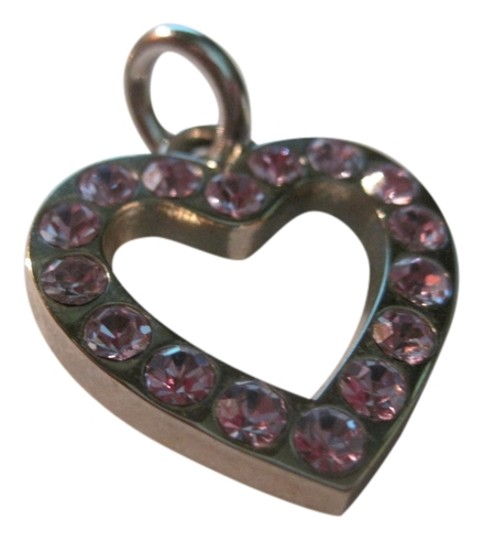 Preload https://item1.tradesy.com/images/coach-silver-and-purple-swarovski-crystal-large-heart-charm-1320760-0-0.jpg?width=440&height=440