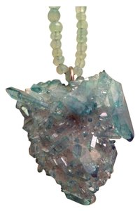 SeraphimWish Designer Aqua Aura Crystal & Chalcedoney