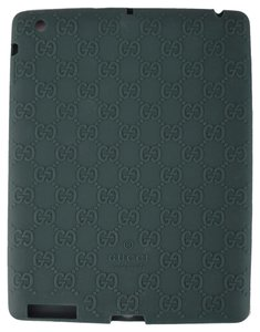 Gucci NEW Gucci 284589 Green GG Guccissima Silicone Case for Ipad 2