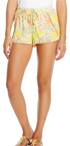Lilly Pulitzer for Target Preppy Summer Print Mini/Short Shorts Happy Place