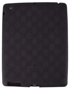 Gucci NEW Gucci 284589 Black GG Guccissima Silicone Case for Ipad 2