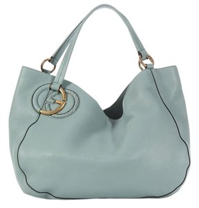 Gucci Gc.k0209.09 Blue Twill Shoulder Bag