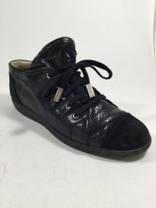 Chanel Sneakers Black Athletic
