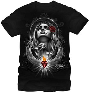 Fifth Sun Print T Shirt black