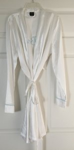 Blue Bridal Satin Robe