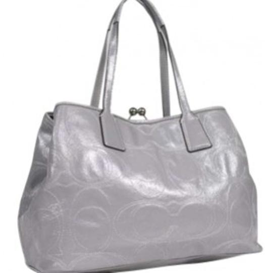 Preload https://item3.tradesy.com/images/coach-carryall-satchelf1182-f15658-grey-patent-leather-with-c-stitching-satchel-132087-0-0.jpg?width=440&height=440