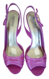 Guess Slingback Sandal Pump hot pink Pumps