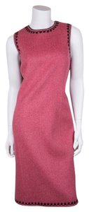 Oscar de la Renta short dress Blush on Tradesy
