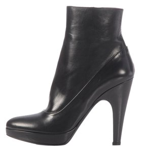 Prada Pr.j1124.14 Platform Leather Boots