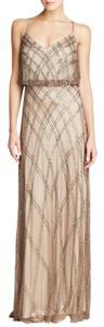 Adrianna Papell Beaded Gown Dress