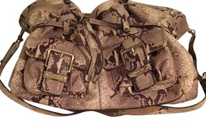 Michael Kors Satchel in Snake Skin Embossed