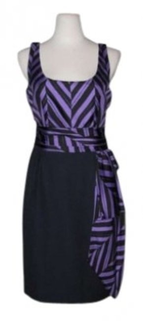 Preload https://item5.tradesy.com/images/milly-purple-navy-marcella-combo-knee-length-short-casual-dress-size-6-s-132099-0-0.jpg?width=400&height=650