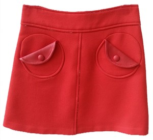 Marc Jacobs Mini Skirt Orange