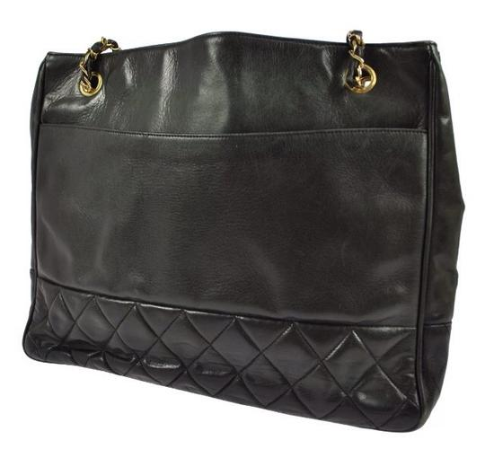 Chanel Monogram Quilted Chain Lambskin Imported Shoulder Bag