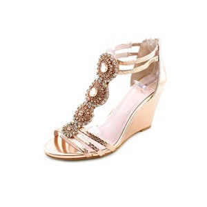 15c41c4a8ecb Vince Camuto Leather Dressy Outdoor Jewels rose gold Platforms