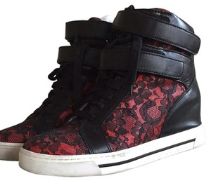 Marc Jacobs Casual Lace Black/red Athletic