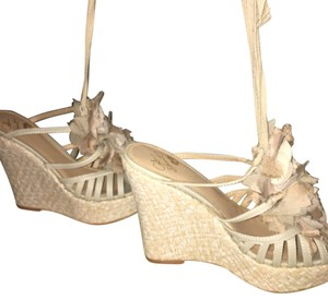 Colin Stuart Nude Wedges
