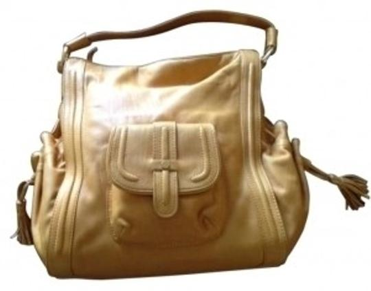 Preload https://item3.tradesy.com/images/coldwater-creek-gold-leather-satchel-132107-0-0.jpg?width=440&height=440