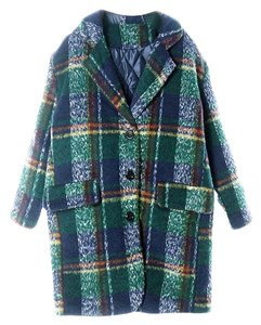 Choies Winter Colorful Chic Stylish Trench Coat