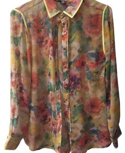 Isabel Lu Top Pink, yellow, orange, green, blue