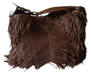 Prada Fringe Shoulder Bag