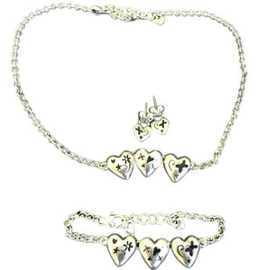 Brighton Brighton three piece jewelry set. Necklace, bracelet and earrings