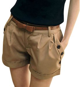Youlanyasi Dress Shorts Khaki/Gold