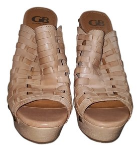 GB Light Tan Mules