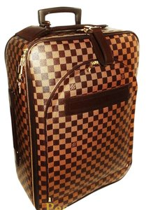 Louis Vuitton Pegase Luggage Browns Checkered Travel Bag