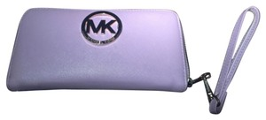 Michael Kors Wristlet in pastel purple