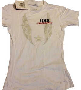Nike Nike's Limited Edition Team USA Olympic Track & Field Compression Shirt