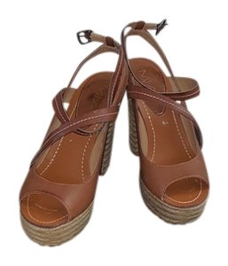 Mia Shoes Tan Sandals