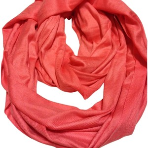 Charlotte Russe Coral Infinity Scarf