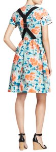Marc by Marc Jacobs short dress multi Jerrie Poplin Flowers Suspender Pale Kade on Tradesy