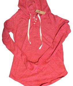 American Eagle Outfitters Waffle Pullover Hooded Sweatshirt