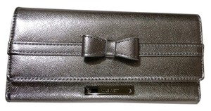 Nine West 9 west New wallet metalic