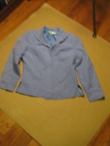 Coldwater Creek Powder Blue Blazer