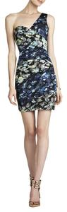 BCBGMAXAZRIA One Off Prom Flowers Dress