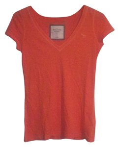 Abercrombie & Fitch T Shirt Tangerine