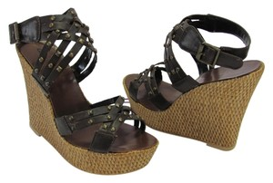 Bakers Size 5.50 M (usa) Very Good Condition Brown, Neutral Wedges