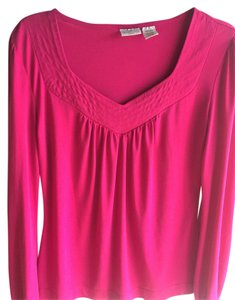 Worthington Top Hot Pink