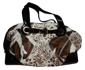 Francesco Biasia Francesca Biascia Calf Skin Satchel in Multi Colored