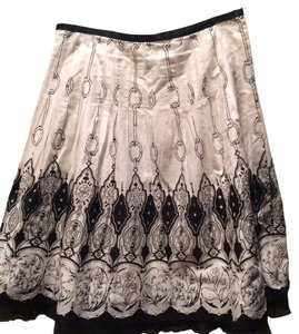 The Limited Skirt Black/White