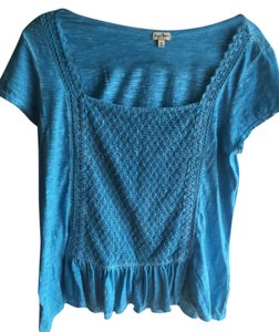 Chip and Pepper Top Turqouise/Sea Foam Blue