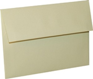 Ivory Wedding A7 Natural White Cream Invitation Envelope 300/Pk
