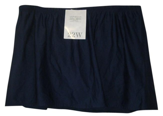Delta Burke SWIM 24W NWT BLACK DELTA BURKE BOTTOM SKORT ATTACHED BOTTOM PLUS
