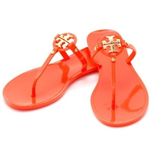 954ab7599ab11 Red Tory Burch Sandals - Up to 90% off at Tradesy