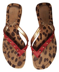 Dolce&Gabbana cheetah Sandals