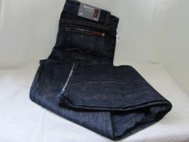 7 For All Mankind Seven Nyd New York Boot Cut Jeans-Dark Rinse